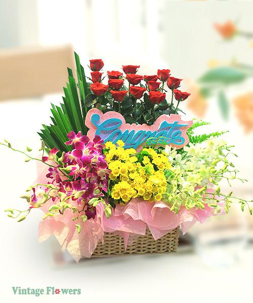 Vintage Flowers Floral Services, Yangon, Myanmar. CG 02