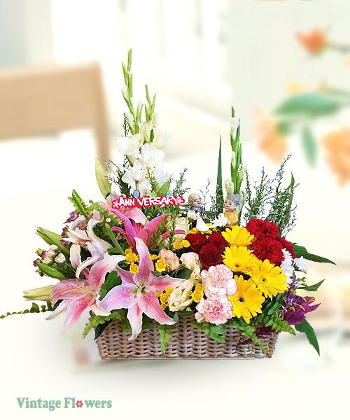 Vintage Flowers Floral Services, Yangon, Myanmar. AY 02
