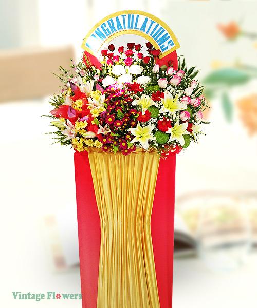 Vintage Flowers Floral Services, Yangon, Myanmar. GS 12