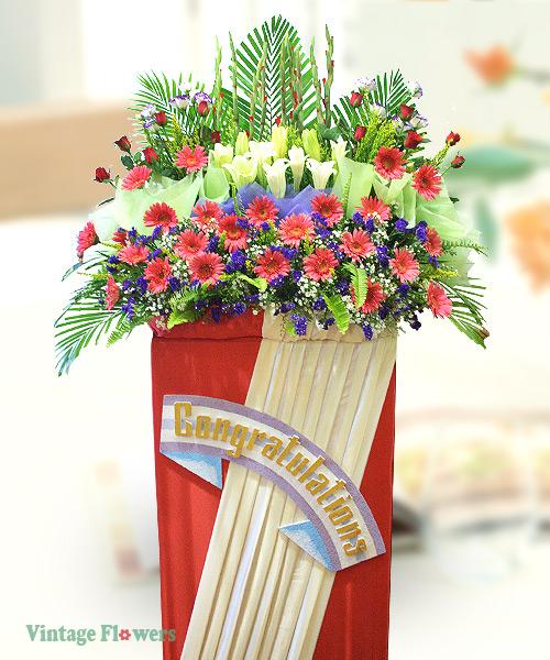 Vintage Flowers Floral Services, Yangon, Myanmar. GS 05