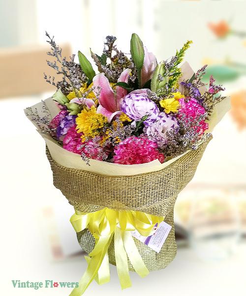 Vintage Flowers Floral Services, Yangon, Myanmar. HB 05